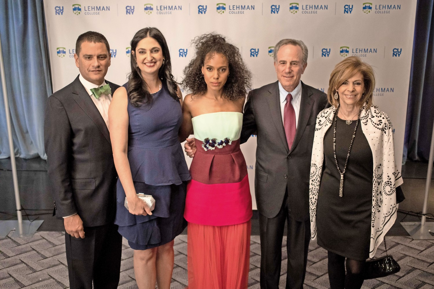 Lehman College honored the actress Kerry Washington with an award for artistic achievement at its 2018 gala.