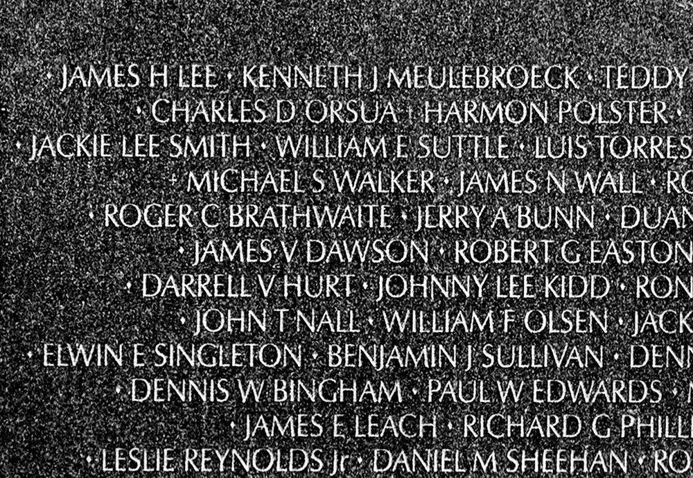 Roger Brathwaite's name is inscribed on the Vietnam Veterans Memorial wall in Washington. Brathwaite — who lived on West 230th Street and served as a combat medic in Vietnam — was killed in battle in 1969.
