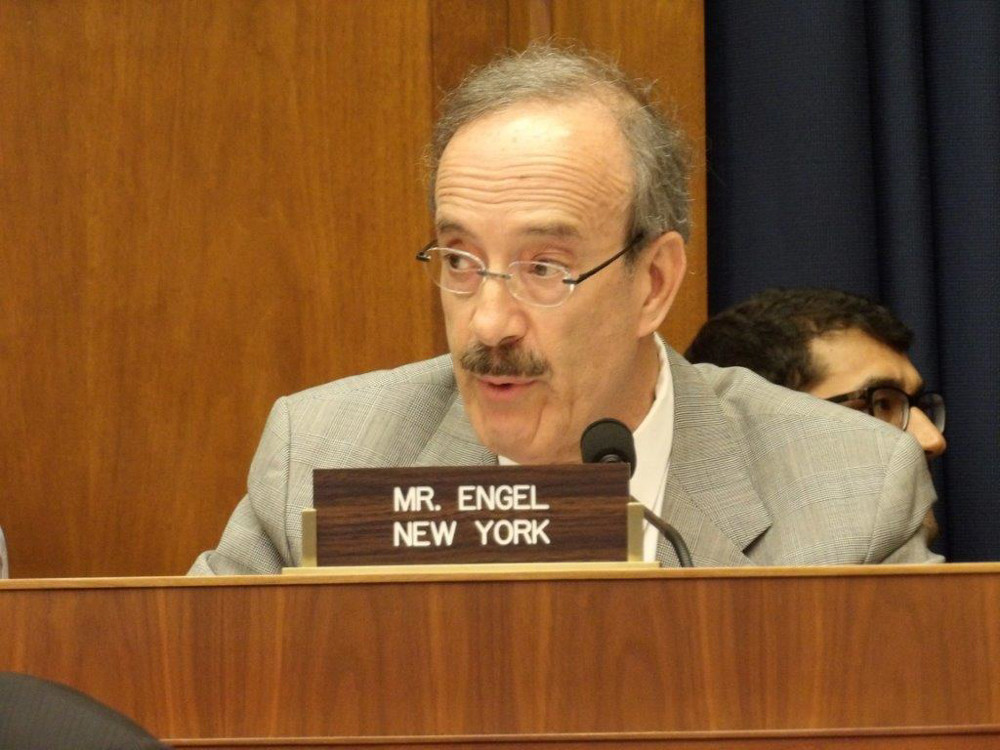 U.S. Rep. Eliot Engel speaks at the Energy and Commerce Committee in Washington last week. Engel faces a challenge in the June 26 Democratic primary from Jonathan Lewis, whose campaign literature levels a host of weighty accusations against Engel that left some voters seeking answers from both candidates.