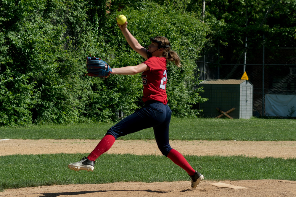 Kennedy senior Stacy Hernandez struck out 11 Van Arsdale batters in JFK's PSAL quarterfinal game last week., But it wasn't enough to save the Lady Knights' season, dropping a 9-7 decision.