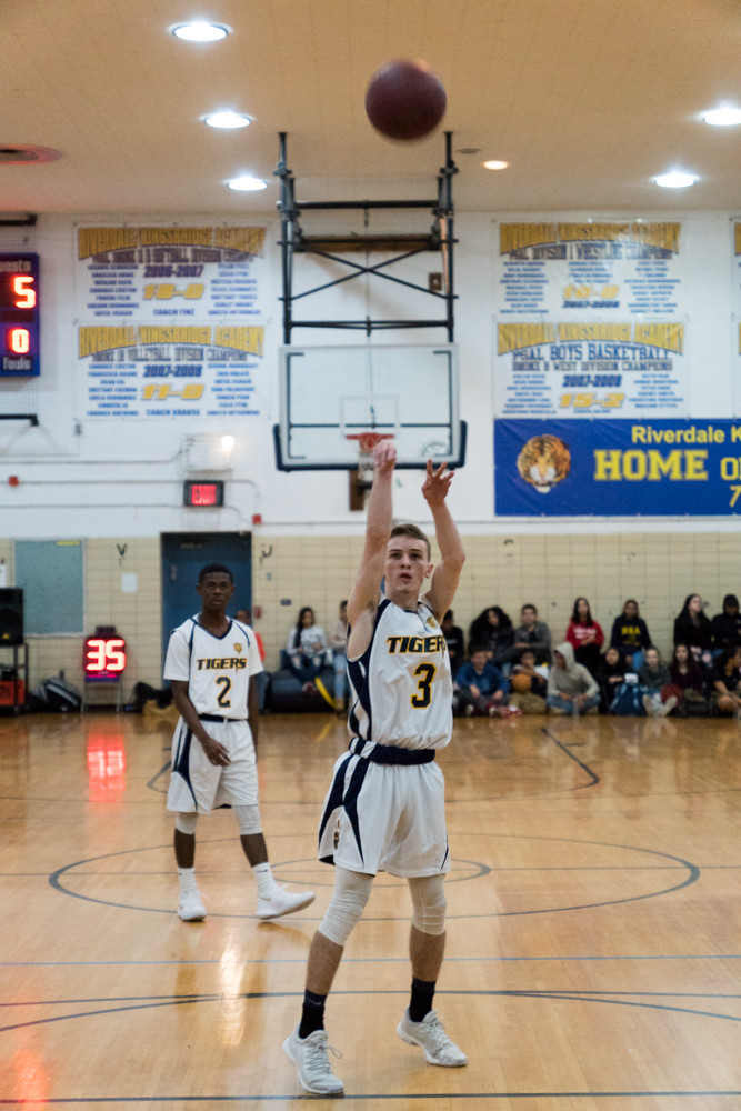 Will Feldman, who just completed a stellar basketball career at Riverdale/Kingsbridge Academy, will look to put a jolt into the Lehman Lightning program in the fall.