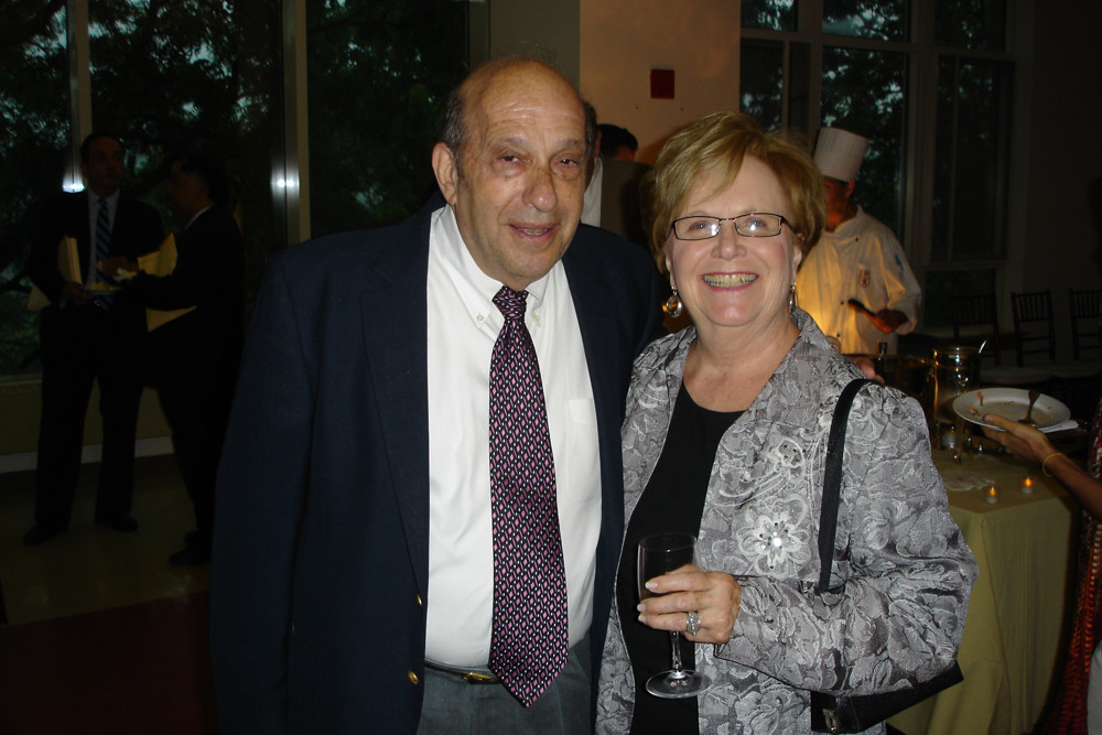 Ellen Camerieri, who served as executive director of Riverdale Senior Services for more than two decades before retiring in 2006, poses with RSS founding member and past president Bob Rubinstein at the agency's 36th anniversary celebration in 2010. Camerieri died from complications from a brain tumor June 14. She was 82.