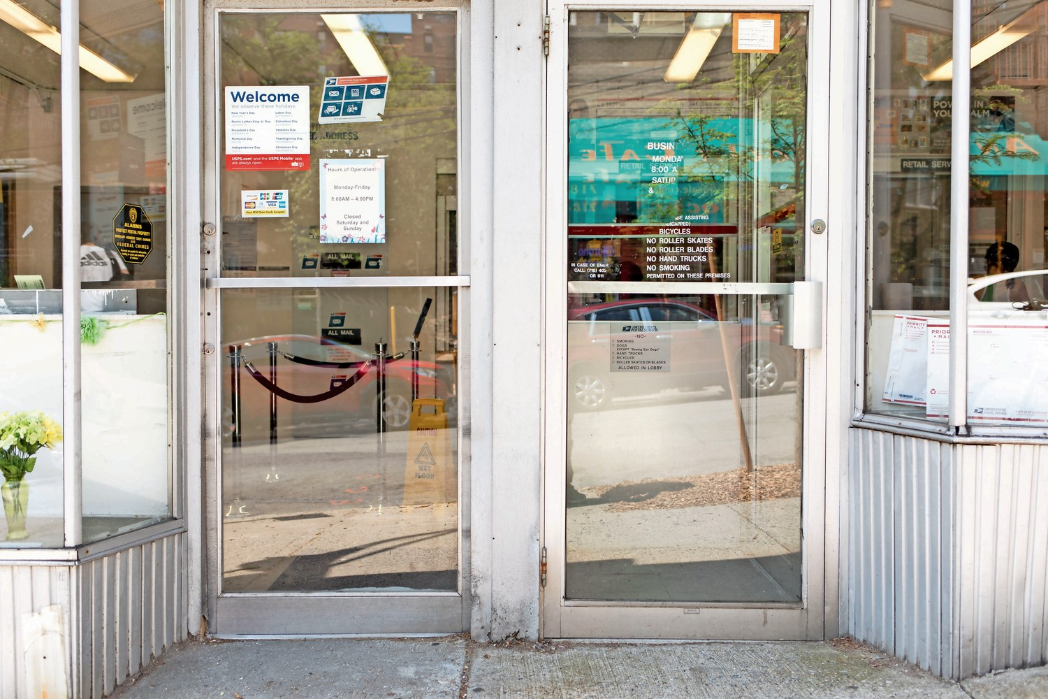 The post office on West 238th Street often suffers from understaffing to the point where the branch has to close for lunch.