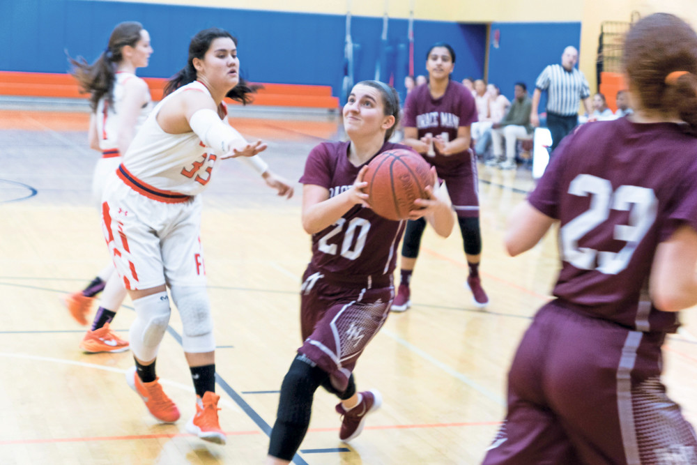 Horace Mann senior guard Jane Frankel could barely dribble a ball when she first started to play on the Horace Mann basketball team. But four years and a graduation later, she's on her way to the University of Virginia as one of her alma mater's more celebrated hoopsters.