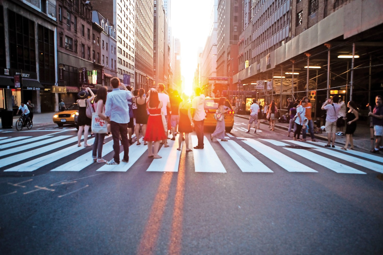 There's no mystery on how Manhattanhenge was built, but it doesn't take away the beauty that happens when the sun peeks through the tall buildings of Manhattan at specific points during the year.