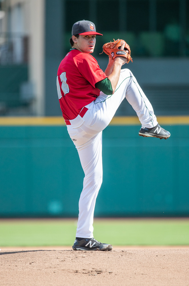 Former Manhattan College lefty Tom Cosgrove is one year into his professional career as he now toes the rubber for the Class A Fort Wayne TinCaps.