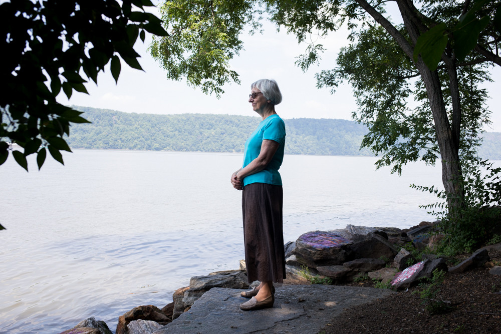 Through years of living by the Hudson River and other local waterways, Carol De Angelo, of the Sisters of Charity of New York, has developed a passion for protecting the river from potentially destructive human-driven projects — like massive storm surge barriers the U.S. Army Corps of Engineers is considering building in New York Harbor.
