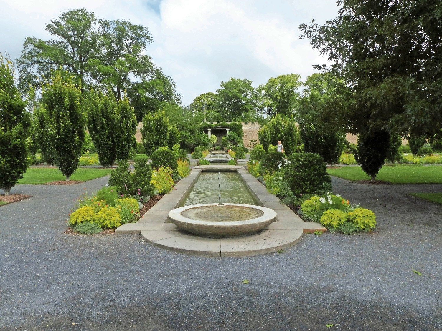 It might seem there's a bit of an Islamic touch to Untermyer Garden, especially when walking through the central channel toward the amphitheater, but the Yonkers attraction is actually influences by Indo-Persian designs.
