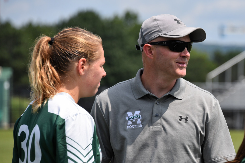 Brendan Lawler, who is about to start his ninth season at the helm of the Manhattan College women's soccer team, has lost star Erica Modena to graduation but All-Conference picks Emma Saul and Arianna Montefusco return to make the Jaspers a team to be reckoned with in the Metro Atlantic Athletic Conference.
