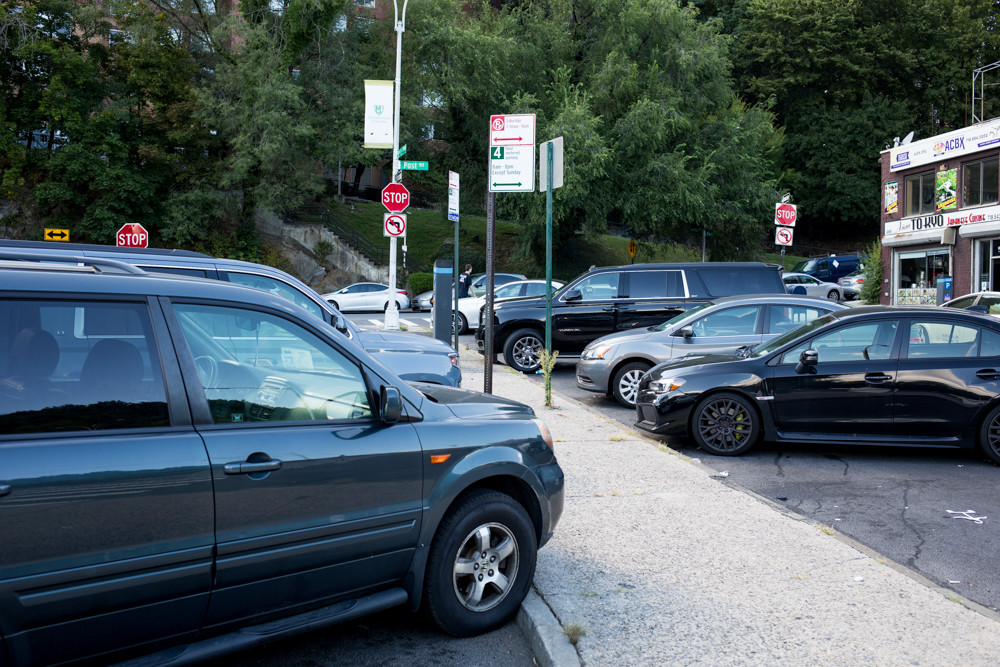 The state of parking on Manhattan College Parkway just off Broadway changed Aug. 24 when the time limit was reduced from 12 hours to four. Assemblyman Jeffrey Dinowitz pushed the city's transportation department to make the change after realizing Westchester commuters were using up valuable spaces.