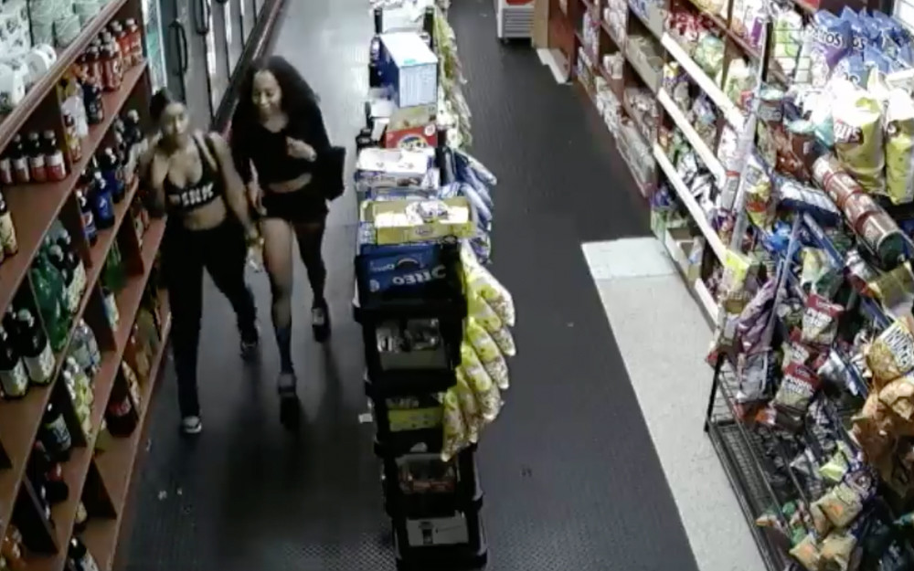 Following a murder on Aug. 31, police had hoped to speak with the two women, seen here in this security camera footage, who they say ran from a murder scene on Broadway and West 238th Street in the early morning hours of Aug. 31, where Nicolas Vargas Jr., reportedly was shot in the head.