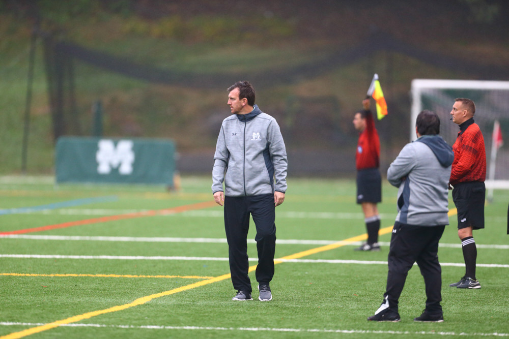 Optimism is high for Jorden Scott's men's soccer program at Manhattan after the Jaspers opened their season with three straight victories for the first time in more than three decades.
