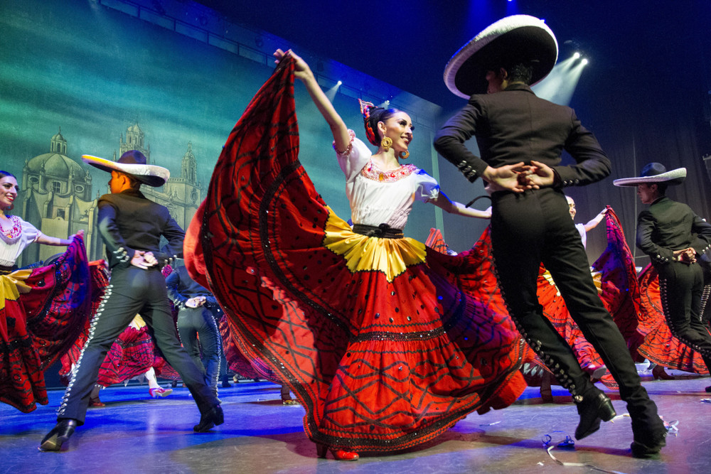 The Ballet Folklórico de México will show off some classic Mexican choreography during a performance at the Lehman Center for the Performing Arts on Nov. 18.