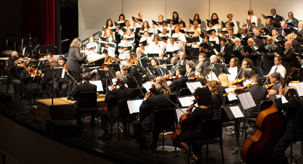 The Lehman College and Community Chorus has performed 54 concerts with both the Lehman Symphony Orchestra and the Bronx Symphony. The chorus — with members from all over the Bronx, Manhattan and Brooklyn — is looking for new singers to join their ranks.
