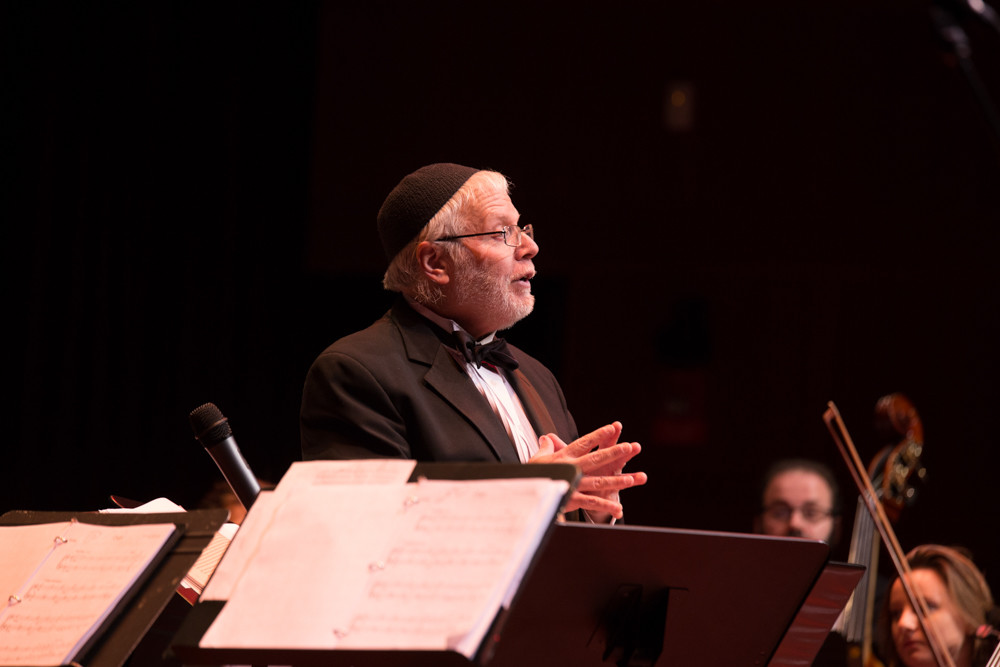 Zalmen Mlotek is a classically trained conductor, performing Yiddish music for decades. Mlotek works as the artistic director of The National Yiddish Theatre-Folksbiene.