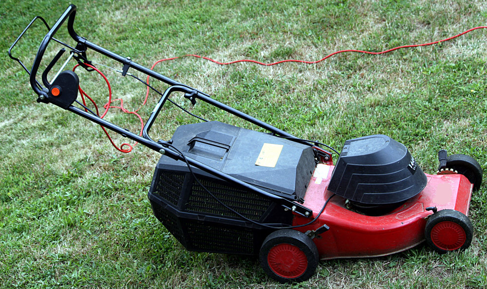 You might see this as simply a lawnmower, but for others, it's a way of introducing some beautiful smells of nature into the air.