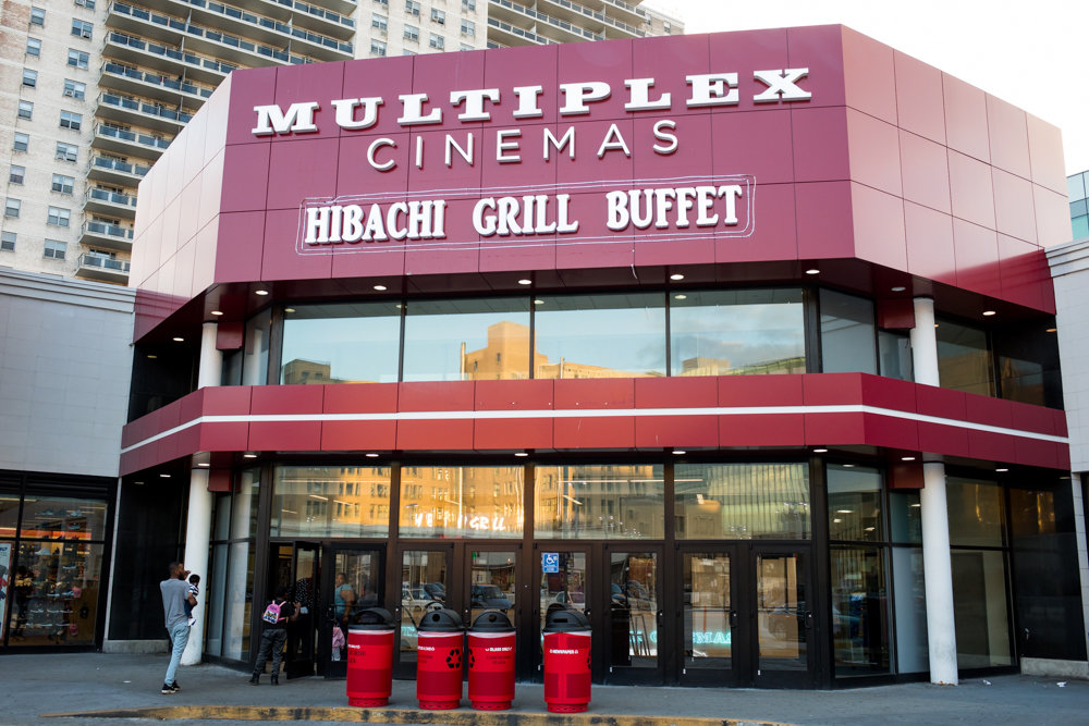 The Concourse Plaza Multiplex Cinemas near Yankee Stadium is one of only two movie theaters in the Bronx. The other is AMC Bay Plaza Cinema 13 near Co-op City. This pales in comparison to what's available in Manhattan.