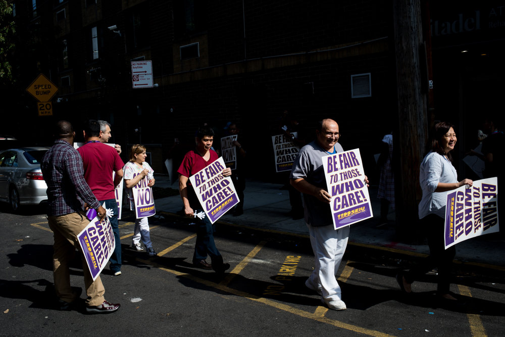 What do they want? Better pay     and a little help | The