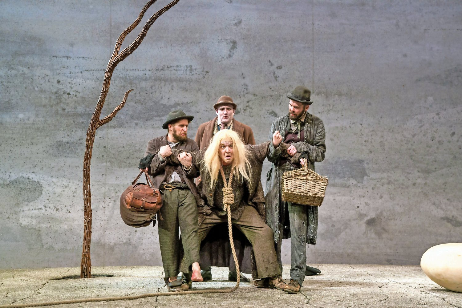 Samuel Beckett's masterpiece 'Waiting for Godot' is playing at John Jay Colleg for a limited time.