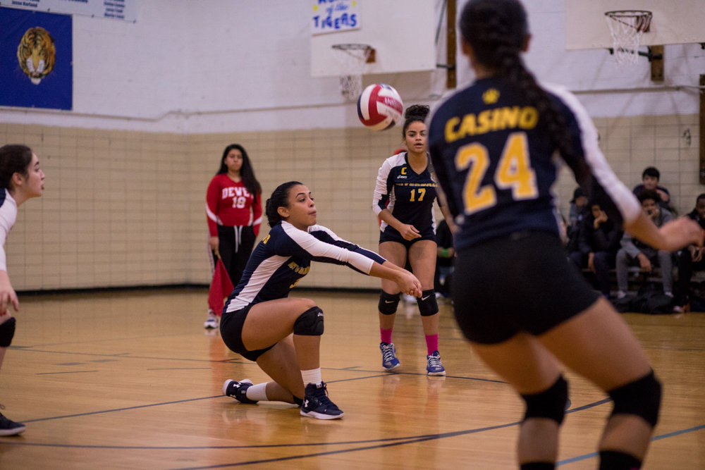 Riverdale/Kingsbridge Academy senior Krystal Paulino is looking to land RKA a third straight PSAL title — one she and her veteran teammates can call their own.