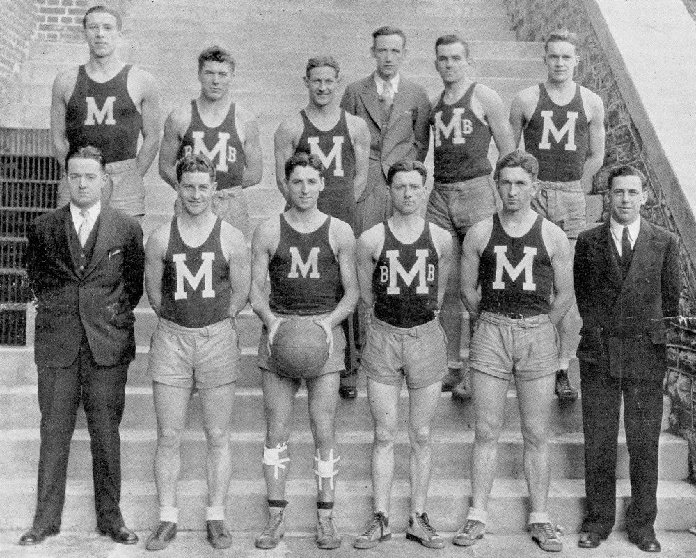 The 1911-12 Manhattan College basketball team started what would become more than a century-long rivalry with Fordham by posting a 20-19 win in their inaugural meeting.