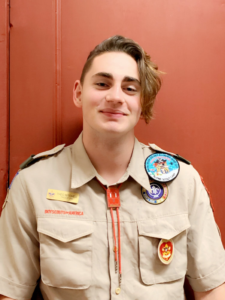 Theodore Mitchell, an upcoming Eagle Scout, will lead a bone marrow drive at the Riverdale Presbyterian Church on Dec. 15. Mitchell is only one merit badge short of reaching full Eagle Scout status.