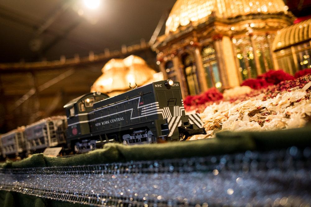 Botanical Garden Goes Loco For Locomotives The Riverdale Press