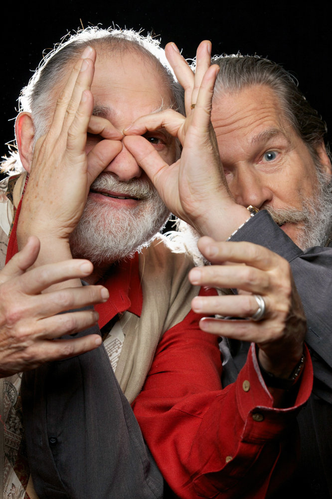 Bernard Glassman collaborated with the actor Jeff Bridges, right, on a book about the Zen Buddhist characteristics of Bridges' character The Dude in the 1998 film 'The Big Lebowski. Glassman was a Zen Buddhist. He died on Nov. 4 at the age of 79.