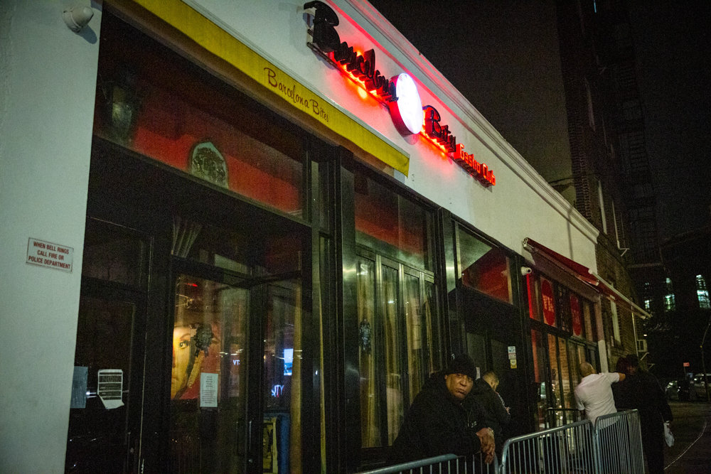 Barcelona Bites is known for its late nights and reportedly rambunctious festivities. The restaurant's buzzing bar scene has drawn the ire of some neighbors who've complained about noise, fighting and a feisty valet service. With the establishment's liquor license due to expire New Year's Eve, Community Board 8 has urged the state's liquor authority not to renew it.