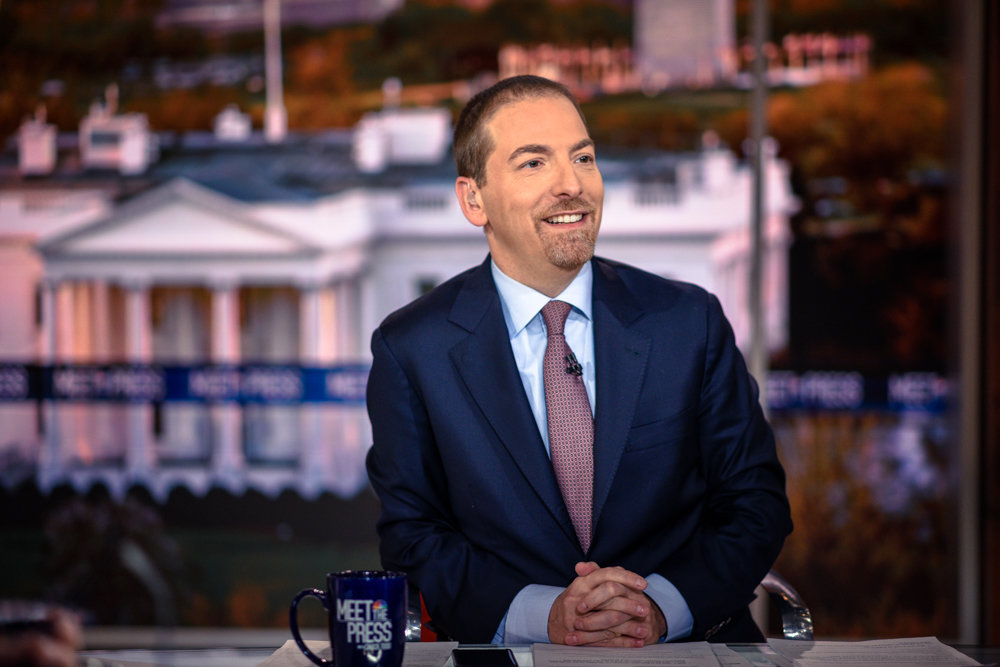 Chuck Todd, moderator of NBC's 'Meet the Press,' is making his way to The Riverdale Y on Jan. 15 for an intimate discussion about media and politics.