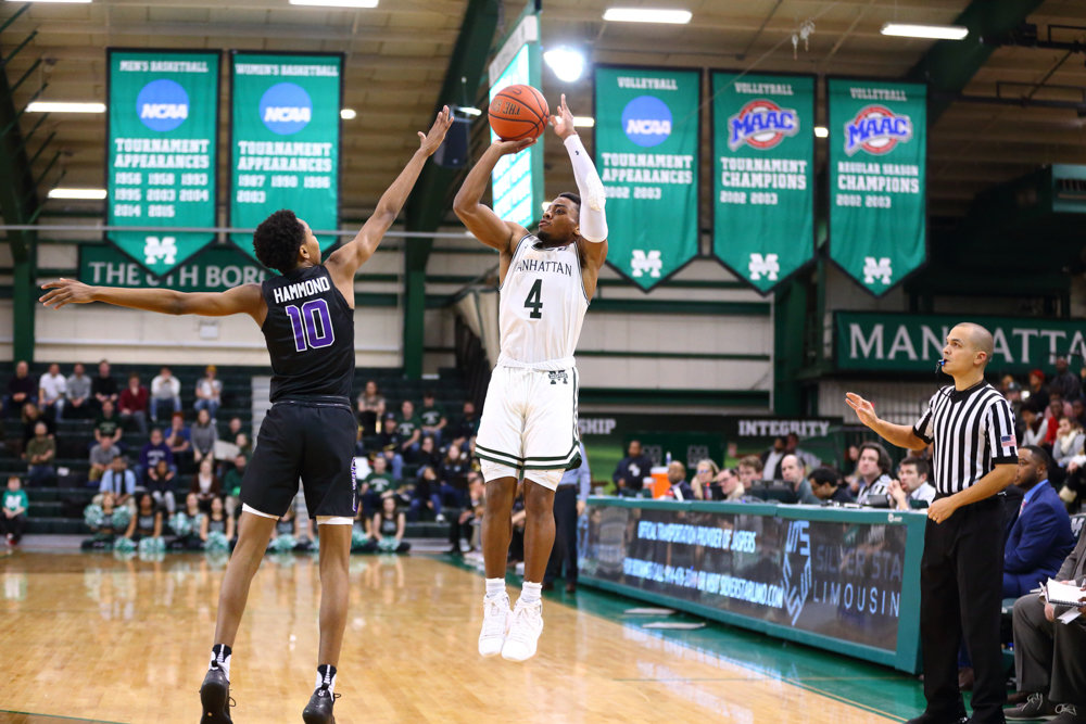 Manhattan freshman guard Samir Stewart had a coming-out party last Saturday, pouring in a career-best 22 points in the Jaspers' victory over Niagara.