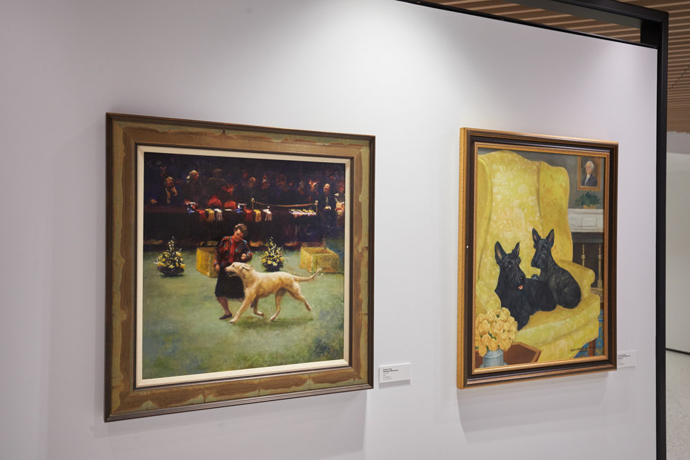The American Kennel Club Museum of the Dog offers classic canine art from well-known artists in that niche such as Maud Earl and Arthur Wardle. The museum opens its doors at 101 Park Ave., in Manhattan, on Feb. 8.