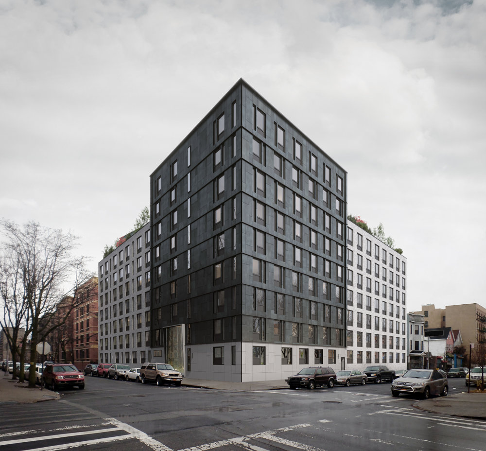 A rendering shows what Arthur Avenue Apartments at 600 E. 179th St.,will look like. As a collaboration between the Hebrew Home at Riverdale and development company Foxy Management, the building will offer affordable apartments to senior citizens in the Belmont neighborhood of the Bronx.