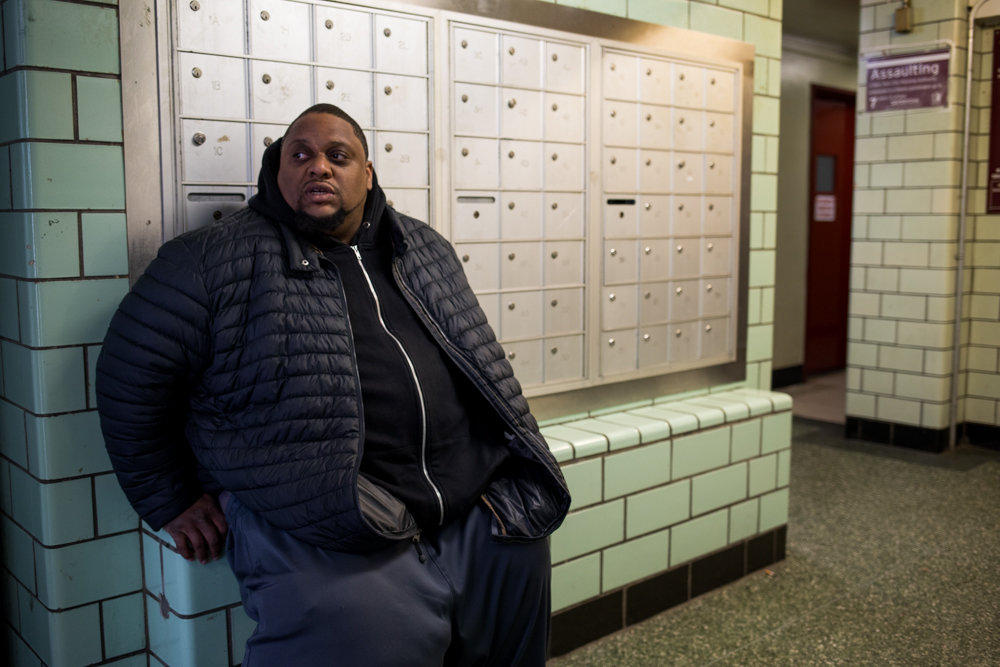 Chris Gordon, a resident of Marble Hill Houses for some three decades, didn't have a problem with his heat during the single-digit cold snap Jan. 21. He's more concerned, however, about his West 225th Street building's rampant rat infestation. The rodents seem to plague the place, Gordon says, regardless of whether there's garbage lying around or not.