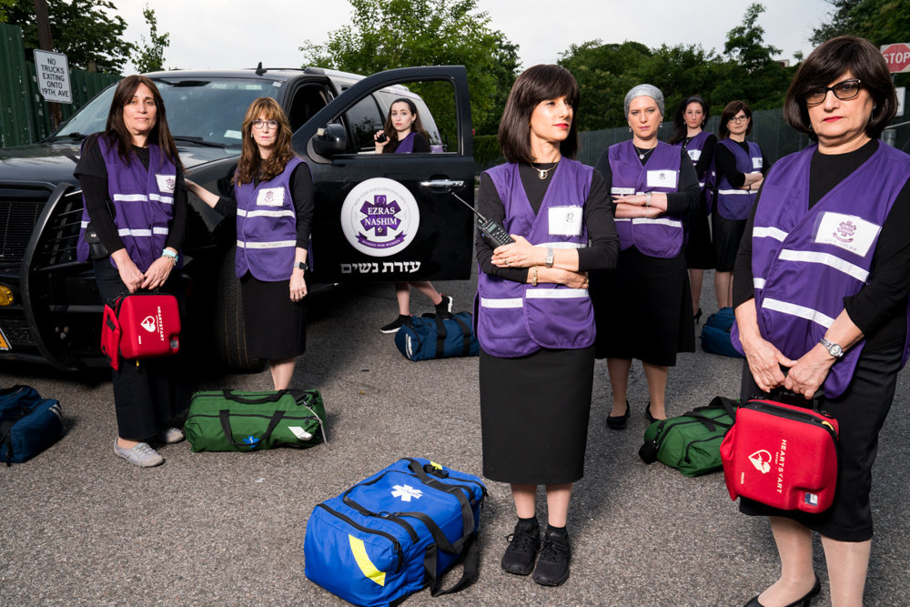 Ezras Nashim is an all-female ambulance service in the Orthodox Jewish community, accommodating women uncomfortable receiving emergency medical care from men. A documentary about the service, '93Queen,' will be screened at the Hebrew Institute of Riverdale on Feb. 24.