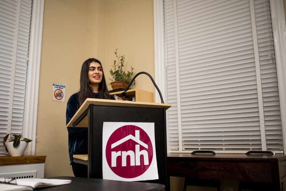 Mahnoor Memon talks about her experience interning at the Riverdale Neighborhood House and how it has shaped her life after receiving the organization's Celia and David A. Stein Award for outstanding service to the community.