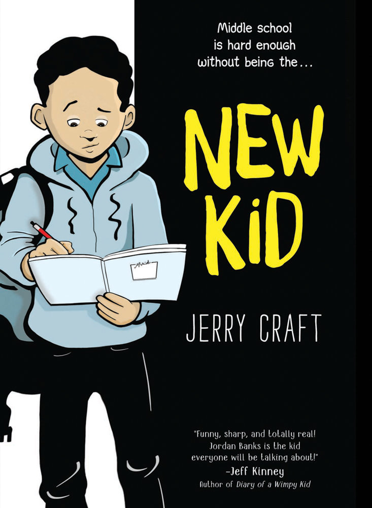 Jerry Craft's soon-to-be-published graphic novel, 'New Kid,' details the story of an African-American student who is the new kid at an affluent, mostly white school. It's based on Craft's experience as a student at Ethical Culture Fieldston School.