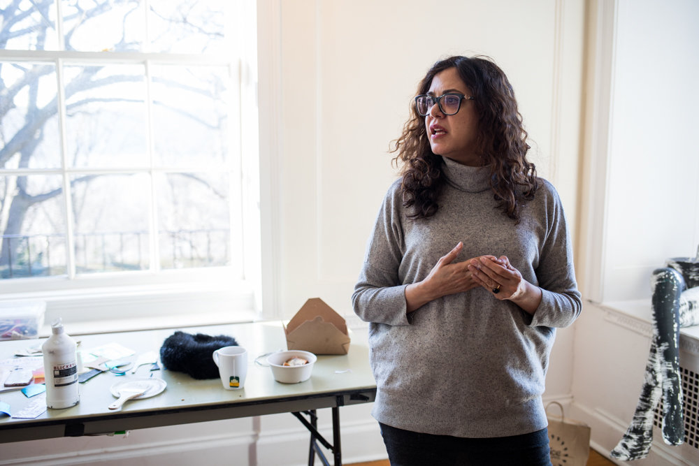 Armita Raafat talks about the influence of Islamic art on her artistic practice. Raafat is a participant in this year's Winter Workspace program at Wave Hill.