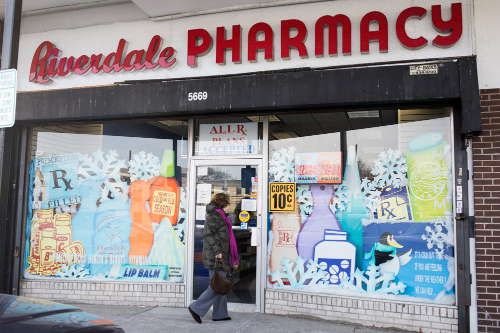 Customers would be hard-pressed to find cigarettes at Riverdale Pharmacy at Skyview Shopping Center on Riverdale Avenue. There, pharmacist Wilson Valle says selling them would basically contradict his pharmacy's mission to help customers strive for healthier lives.