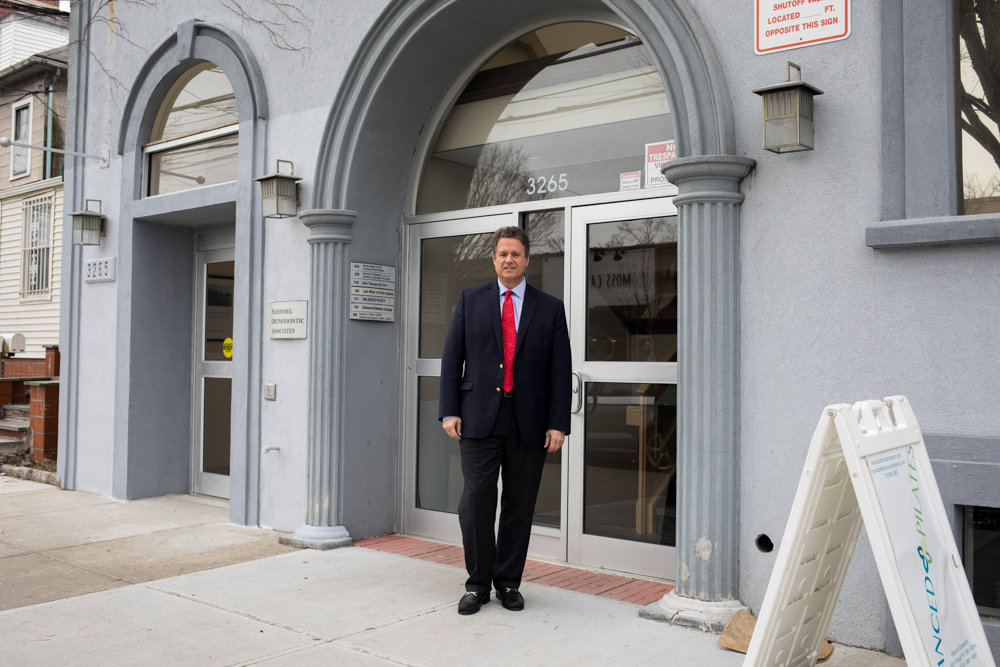 Before he took a break from the real estate business eight years ago, John Edwards ran his company from an office at 3265 Johnson Ave., which will be the site of his new office in March