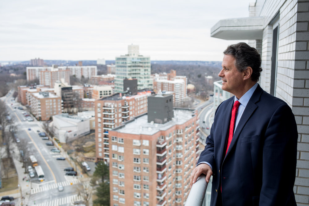While his new office will open in March, real estate agent John Edwards already is busy with listings, including apartments with terrace views, like one at The Whitehall, at 3333 Henry Hudson Parkway. After spending eight years with some of the larger real estate firms, Edwards is back on his own, opening up shop on Johnson Avenue once again.