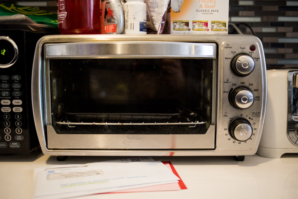 Marcelo Lopez and his three roommates invested in a toaster oven as well as a crockpot to broaden the range of appliances they can prepare food with following a cooking gas outage that's plagued them since last September, leaving their stove decidedly out of commission.