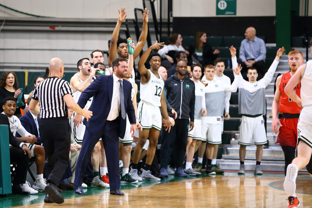 Manhattan College head coach Steve Masiello endured a frustrating weekend, which saw his Jaspers lose to both archrival Iona at home and Fairfield on the road.