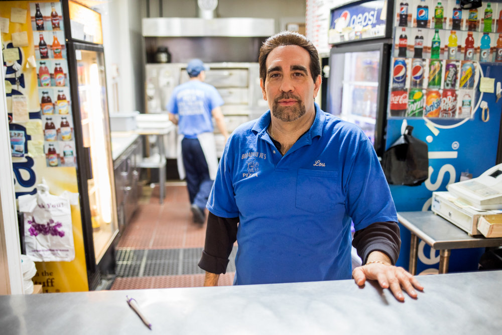 Louis Porco runs the show at Broadway Joe's, which is celebrating 50 years slinging slices. He took over the business from his father, Joe, for whom the place is named. Broadway Joe's has changed with the times, but for Porco, 'If it ain't broke, don't fix it.'