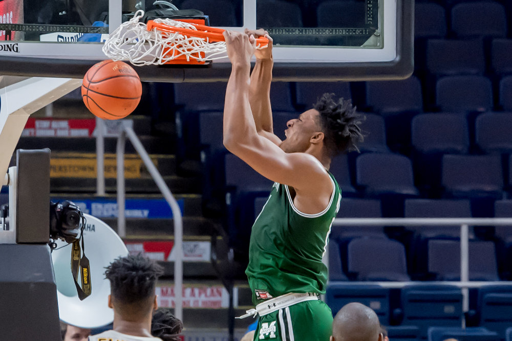 Manhattan freshman Warren Williams scored a career-high 27 points in the Jaspers' MAAC tournament quarterfinal loss to Canisius. But he is one of the formidable building blocks of Manhattan College's future.