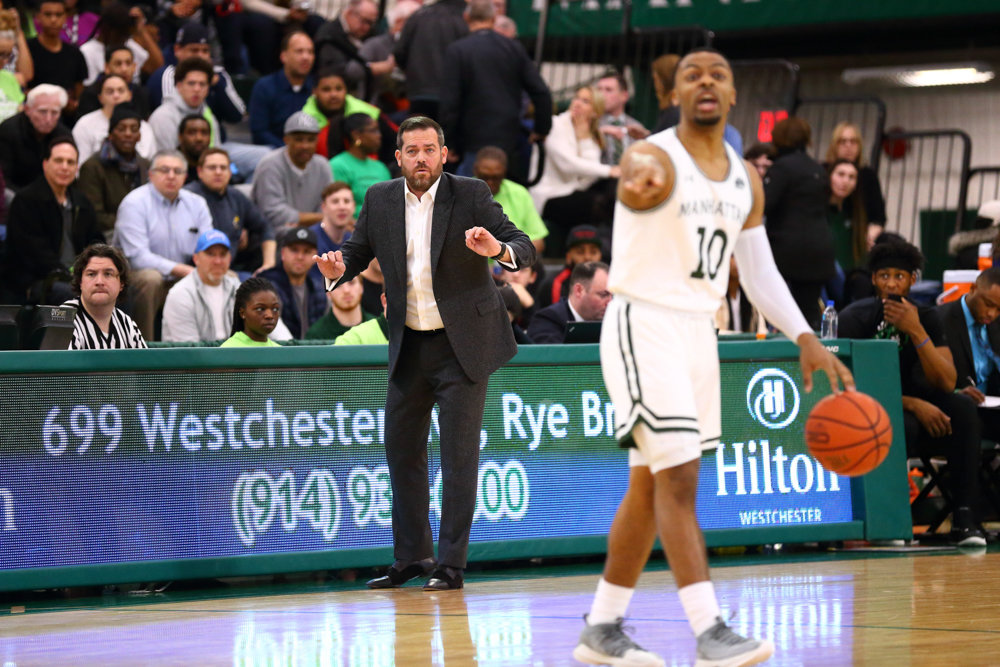 With a team comprised primarily of freshmen and sophomores, Manhattan head coach Steve Masiello led the Jaspers to a quarterfinal berth in the MAAC tournament, and will have all his top players returning next season.