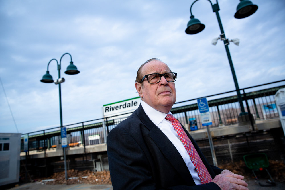 Charles Moerdler is at loggerheads with the MTA's Metro-North committee over funding for a proposed greenway. Moerdler believes the railroad is 'gaming the community' after learning $123 million in funding that had been appropriated for the project in 2017 were redirected away from the Bronx.