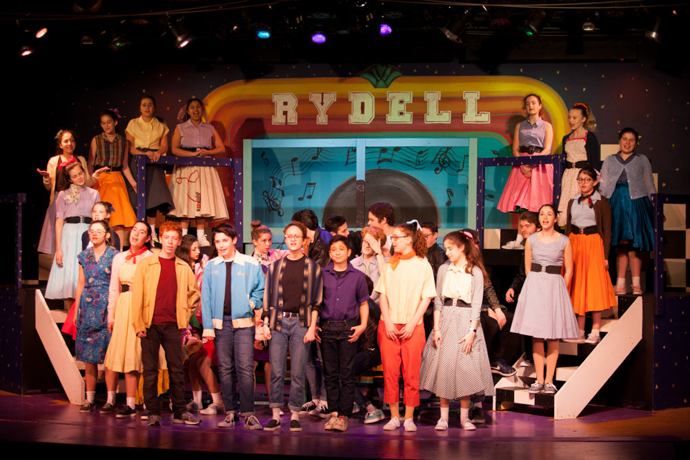 'Grease' is the latest production from The Riverdale Y's teen acting program Riverdale Rising Stars. It premiered March 31, and runs through April 14.