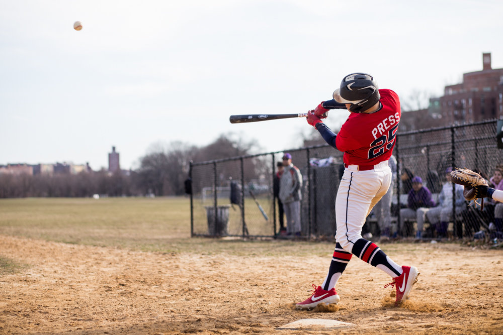 American Studies' Casey Press was a dual threat for the Senators in the school's victory over IN-Tech, driving in three runs. Press also was the winning pitcher, allowing just two hits over five innings and striking out five.