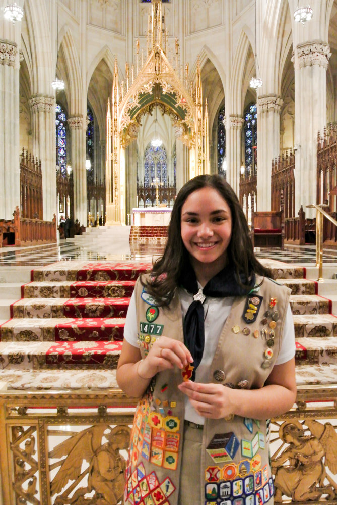 Religious Emblems for Catholic Girl Scouts
